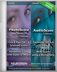 PhotoScore & AudioScore Ultimate 8 Bundle
